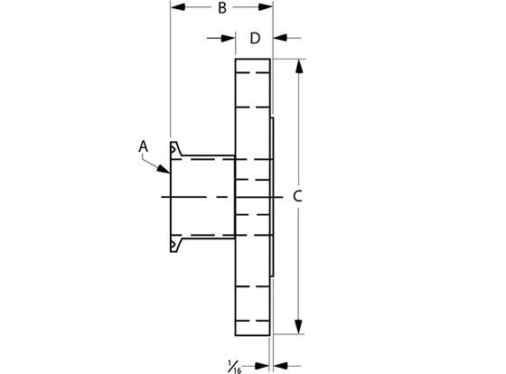 Flange-x-Tri-clamp-Adapters